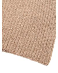 Edward Crutchley Multicolor Ribbed Knit Cashmere Beanie Hat