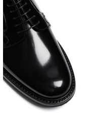 Church's - Black Shannon 2 Leather Derby Shoes - Lyst