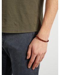 Luis Morais - Multicolor Bead And White-gold Skull Bracelet for Men - Lyst