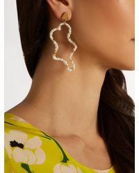 Lucy Folk - Multicolor Mirage Pearl Earrings - Lyst