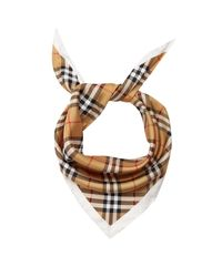 Burberry | Multicolor House-checked Silk Scarf | Lyst