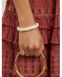 Aurelie Bidermann - Metallic Twisted-effect Gold-plated Cuff - Lyst