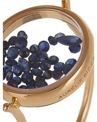 Aurelie Bidermann - Blue Sapphire & Yellow-gold Ring - Lyst