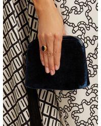 Valentino - Black Stone-embellished Signet Ring - Lyst
