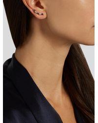 Loren Stewart - Metallic Sapphire & Yellow-gold Earring - Lyst