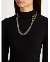 Charlotte Chesnais - Metallic Briska Silver & Gold-plated Necklace - Lyst