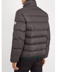 Moncler - Gray Gres Quilted Down Jacket for Men - Lyst