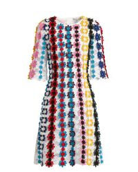 Mary Katrantzou - Multicolor Nennax Guipure Lace Dress - Lyst