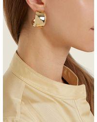 Fay Andrada - Multicolor Koko Medium Hoop Brass Earrings - Lyst