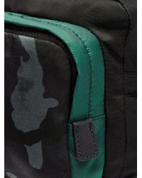 Prada - Black Camouflage-print Nylon Shoulder Bag for Men - Lyst