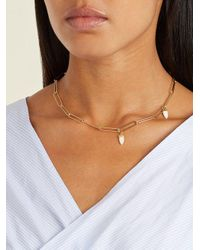 Isabel Marant - White It's All Right Shark's-tooth Necklace - Lyst