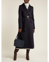 Gabriela Hearst - Blue Joaquin Double-breasted Cashmere Coat - Lyst