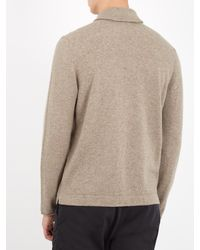 Massimo Alba - Natural Shawl-collar Cashmere Cardigan for Men - Lyst