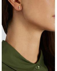 Ileana Makri - Metallic Diamond & Yellow-gold Earring - Lyst