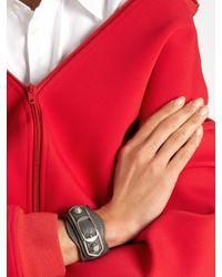 Balenciaga - Multicolor Classic Metallic Edge Leather Bracelet - Lyst