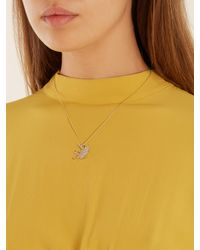 Marc Alary - Metallic Diamond & Yellow-gold Necklace - Lyst