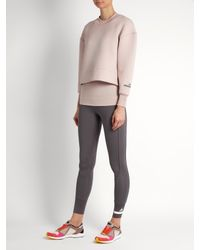 Adidas By Stella McCartney Multicolor Essentials Scuba-jersey Performance Sweatshirt