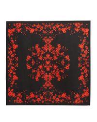 Givenchy - Multicolor Floral-print Silk-twill Scarf - Lyst