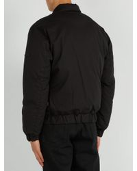 Stone Island - Black Shadow Project Down Bomber Jacket for Men - Lyst