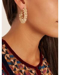 Rosantica By Michela Panero - Pink Carmen Bead-embellished Earrings - Lyst
