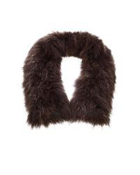 Leon Max - Brown Fur Stole - Lyst