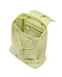 meli melo - Yellow Backpack Mini Lime - Lyst