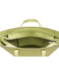 meli melo - Yellow Rosalia Mini Cross Body Bag Lime Woven - Lyst