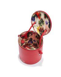 Meli Melo - Severine   Bucket Bag   Mars Red - Lyst