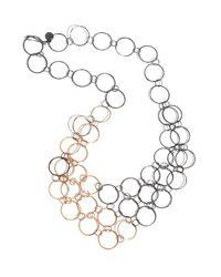 Melissa Joy Manning | Metallic Mixed Metal Mini Collar Necklace | Lyst
