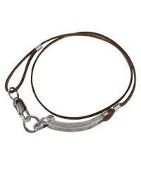 Gilbert Gilbert | Natural Boucle Camel Bracelet for Men | Lyst