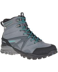 Merrell | Gray Capra Glacial Ice+ Mid Waterproof for Men | Lyst
