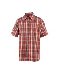 Merrell | Red Ferris Plaid Shirt for Men | Lyst