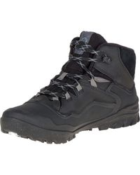 Merrell - Black Overlook 6 Ice+ Waterproof for Men - Lyst