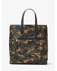 Michael Kors | Black Kent Reversible Camouflage Nylon Tote for Men | Lyst