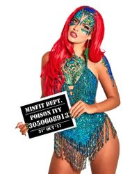 Missguided - The Gypsy Shrine Green Poison Ivy Chest Piece - Lyst
