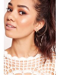 Missguided - Metallic Multi Pack Boho Earring Set - Lyst