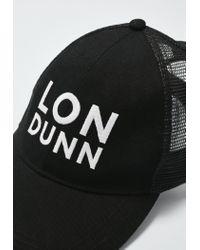 Missguided - Londunn + Black Mesh Back Logo Cap - Lyst