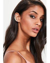 Missguided | Metallic Gold 2 Pack Ear Cuff | Lyst