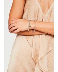 Missguided - Multicolor Heart Detail Bracelet Pack - Lyst