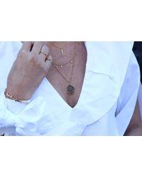Missoma - Metallic Black Rutilated Quartz Slice Necklace - Lyst