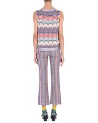 Missoni - Purple Vest - Lyst