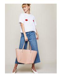 Miss Selfridge - Pink Reversible Tote Bag - Lyst