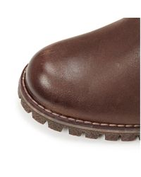 Moda In Pelle - Giano Brown Leather - Lyst