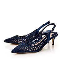 Moda In Pelle - Blue Lunas Court Shoes - Lyst