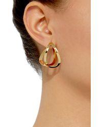 Charlotte Chesnais - Metallic Endless Gold-dipped Earrings - Lyst