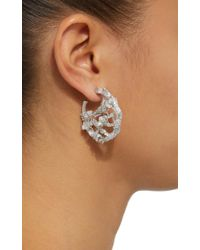 Anabela Chan - 18k White Gold Vermeil Diamond English Garden Earrings - Lyst