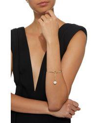 Wasson - Metallic Flex Lock 14k Gold Pearl Bracelet - Lyst