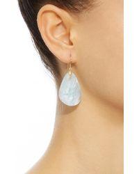 Annette Ferdinandsen - Blue 18k Gold Aquamarine Earrings - Lyst