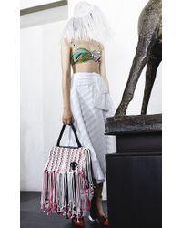 Emilio Pucci - White Asymmetric Midi Skirt - Lyst