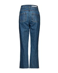 Magda Butrym - Blue Brownsville Cropped Jean - Lyst